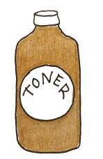 oily toner