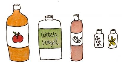 toner oily ingrredients